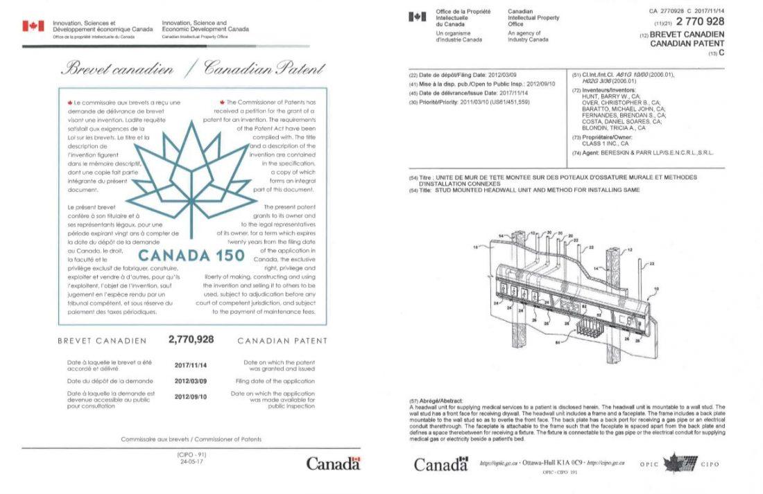 Studmount Headwall Canada